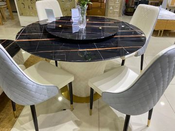Home Use Trendy Coffee Tables With Hard Granite Surface Wear Resistant